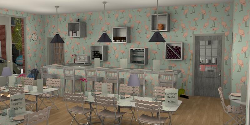Sweet home 3d blog for Sweet home 3d cuisine
