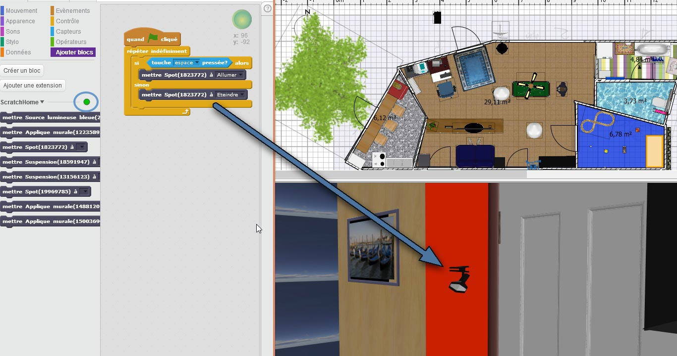 3d cad models in the web sweet home 3d blog for Sweet home 3d modele maison