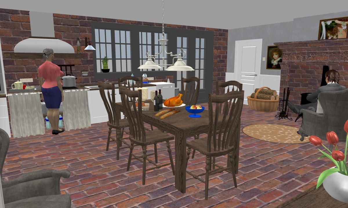 And you how do you use your sweet home 3d episode 19 for Sweet home 3d cuisine