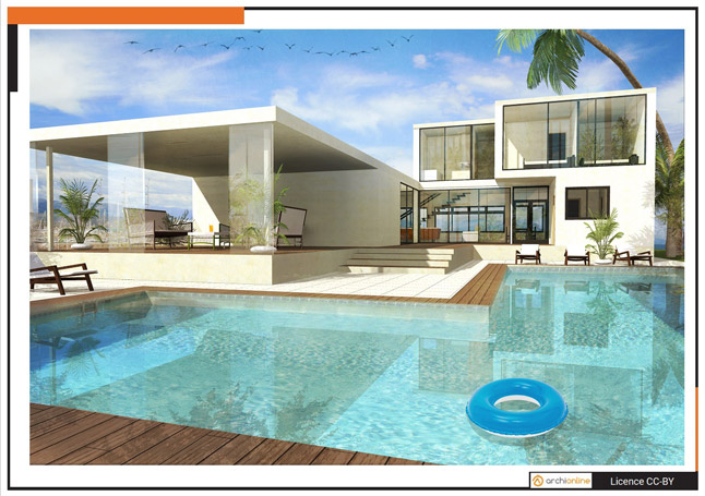 Archionline interview and plans sweet home 3d blog for Maison moderne home sweet home