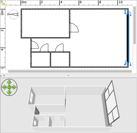 Draw The Walls Of The Upper Level