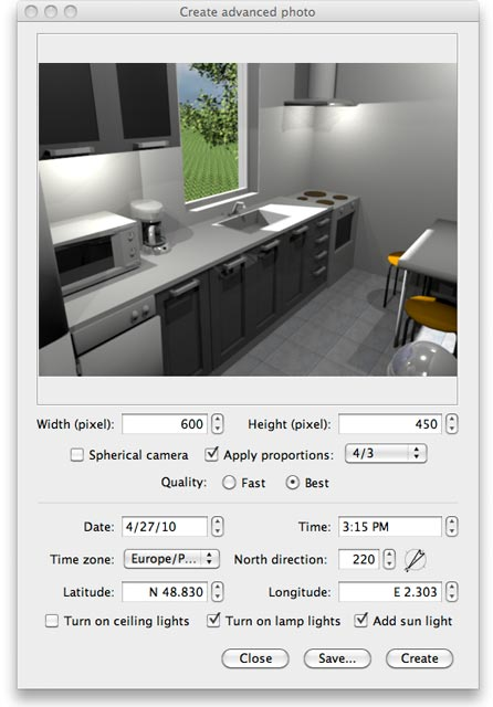 Advanced rendering plug-in - Sweet Home 3D Blog