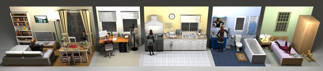 furniture libraries 1 3 sweet home 3d blog. Black Bedroom Furniture Sets. Home Design Ideas