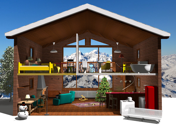 3d cad models in the web sweet home 3d blog Home 3d model