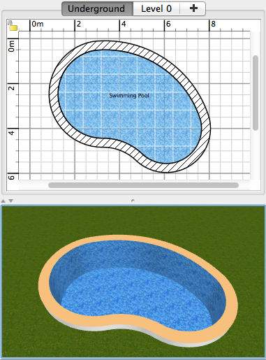 How to design a swimming pool sweet home 3d blog for Swimming pool 3d model free download