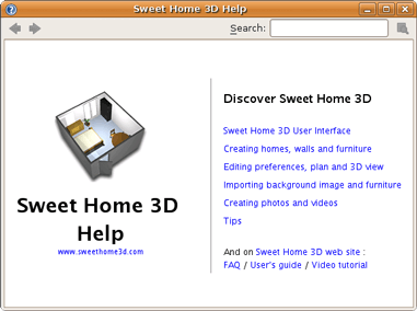 Sweet home 3d ict for Sweet home 3d mobili