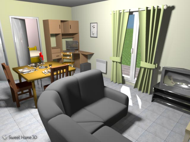 3d sweet home 3d v26 job da ren for Furniture library for sweet home 3d download