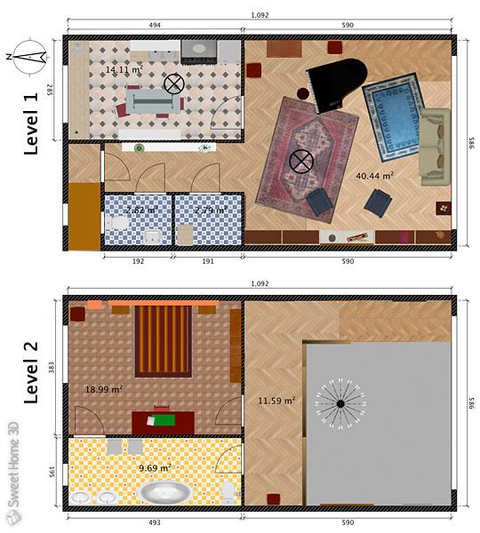 3d Home Design Software Top 10: Sweet Home 3D : Galerie