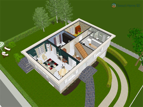 Pleasant Sweet Home 3D Gallery Download Free Architecture Designs Scobabritishbridgeorg