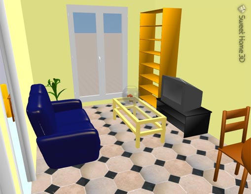 Consigliamoci software home sweet home 3d come for Programma 3d casa