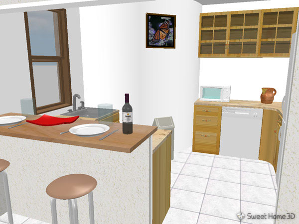 SweetHome3DEx&le5.sh3d ... & Sweet Home 3D : Gallery