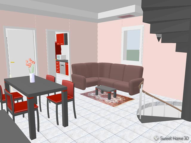 Sweet home 3d galerie for Sweet home 3d arredamento
