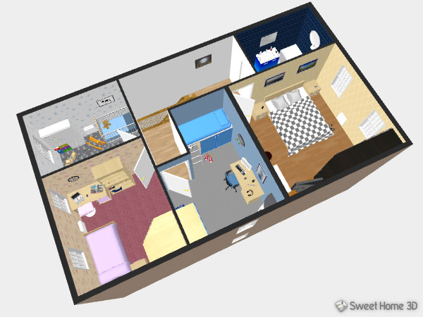 Sweet home 3d galeria for Mobilia 3d para sweet home