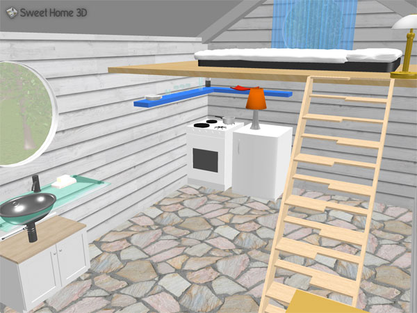 Wonderful SweetHome3DExample9 WoodenShed.sh3d (13.4 MB) 3D Animation