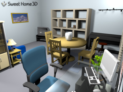 Sweet home 3d - Sweet home muebles ...