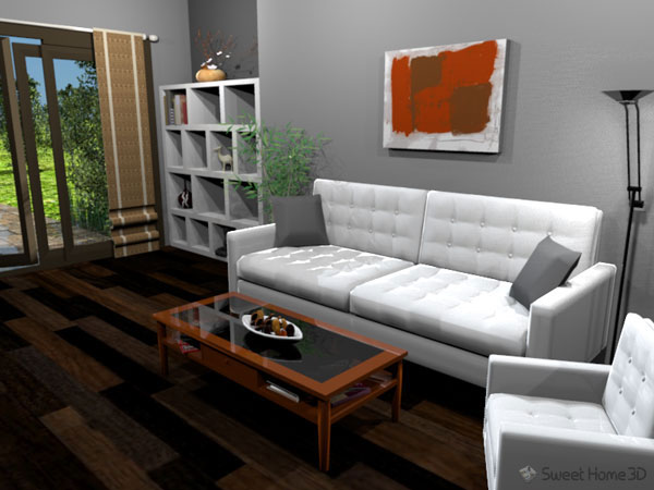 sweet home 3d um projeto de software livre dispon vel no. Black Bedroom Furniture Sets. Home Design Ideas