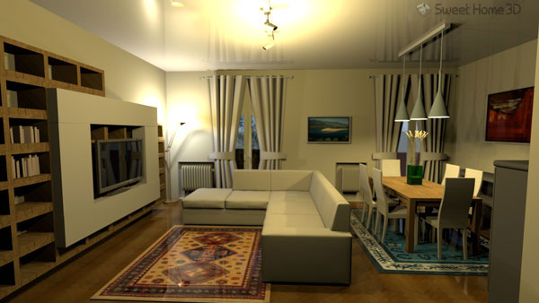 Sweet home 3d projektem open source dost pnym na for Sweet home 3d arredamento