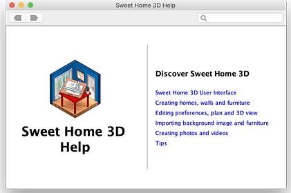 Sweet Home 3D : User's guide
