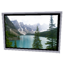 Lake Moraine Frame by Emmanuel Puybaret
