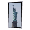 Statue Of Liberty Frame by Emmanuel Puybaret