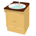 Bathroom cabinet by Snduc