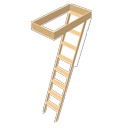 Staircase ladder by Ola-Kristian Hoff