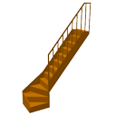 Curve staircase by eTeks