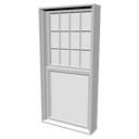 Double-hung window by Kator Legaz