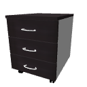 Drawer unit on casters by LucaPresidente