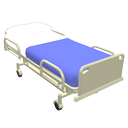 Hospital bed by Scopia