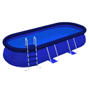 Piscine rectangulaire par Scopia