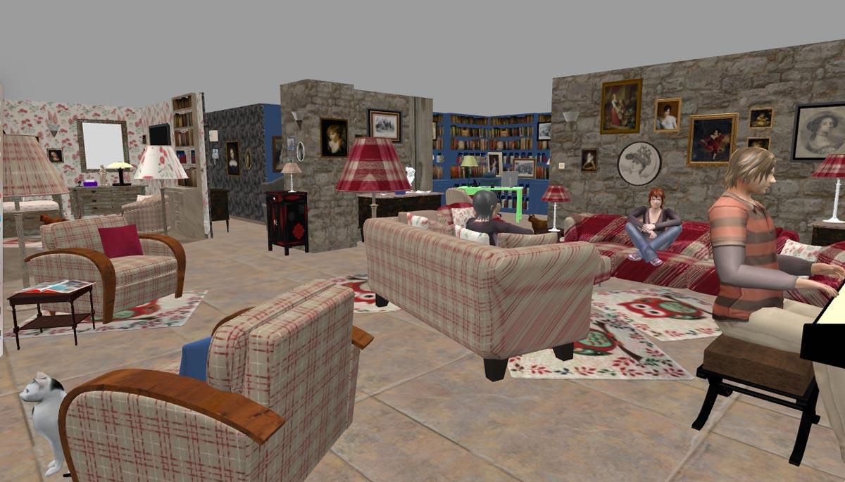 Créer Chambre 3d